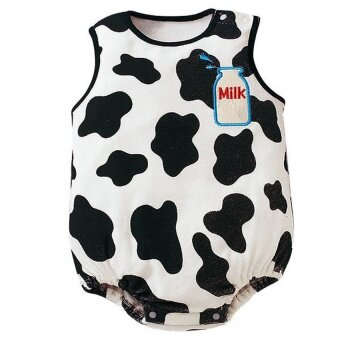 Harga Summer Cotton Sleeveless Baby Bodysuits Rompers Girl Boy Newborn Infant Clothing Bebe Jumpsuits – Cow