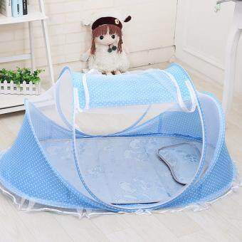 Harga FIREWORK Fabric Baby Playpen Foldable Baby Bed Infant Baby Bed