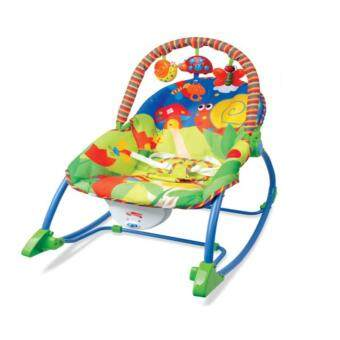 Harga FISHER PRICE INFANT TODDLER BABY ROCKER-(BLUE)