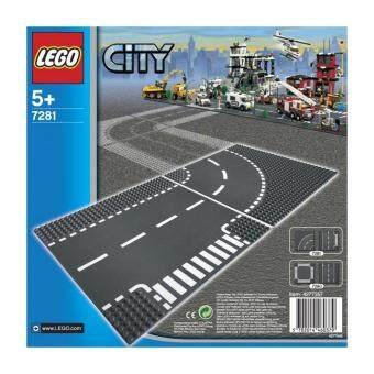 Harga Lego City 7281 T-junction & Curve