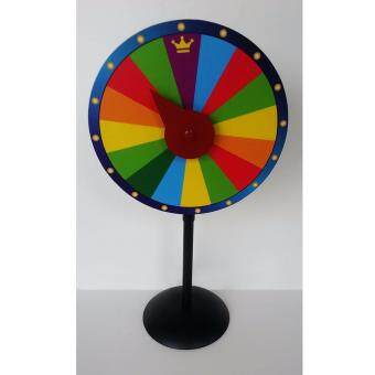 Harga Spin & Win Party Games Mini Wheel Of Fortune Table Top Display