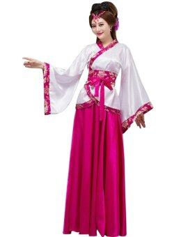 Harga Cosyuan Chinese Costumes Women Fancy Dress Hanfu Rose One Size