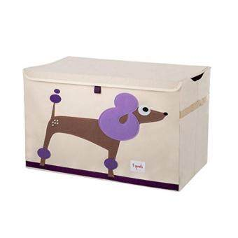Harga 3 Sprouts Toy Chest / Storage Box Series F (D02-Poodle)