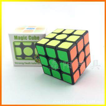 Harga 1pec Speed Fantasy 3x3x3 Magic Cubes Keyring Puzzle Keychain Speed Toy Layers Magic Cube Gift