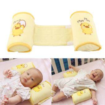 Harga Adjustable Baby Shaping Pillow Infant Safe Sleeping Positioner Cushion Yellow