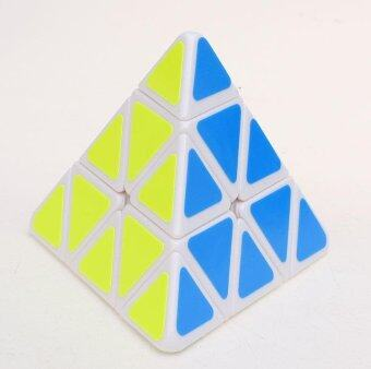 Harga Ds Pyramid Rubik's Cube Tetrahedron White Magic Cube