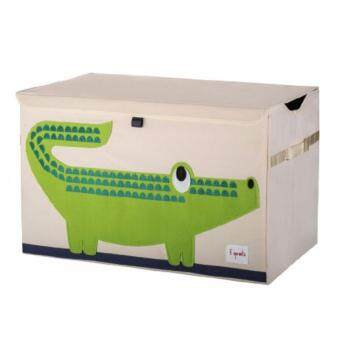 Harga 3 Sprouts Toy Chest / Storage Box Series F (D05-Crocodile)