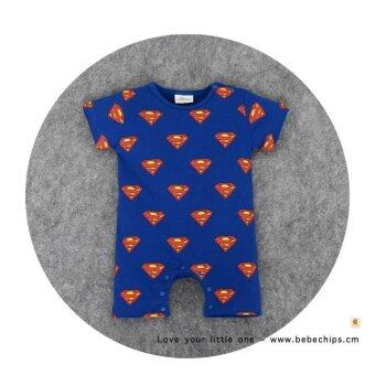 Harga Batman Superman Print Baby Romper