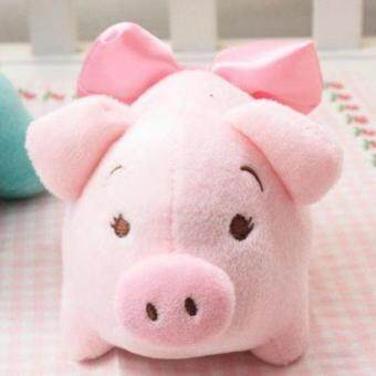 Harga Wedding Doll Cute Plush Toy Powder Pink Pig Green Bamboo Bag Car Home in Addition to Flavor Small Doll Doll
