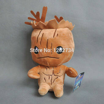 Harga Free Shipping New Guardians of the Galaxy Plush Toy Tree people Groot Doll