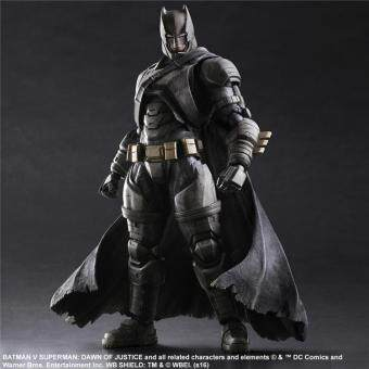 Harga Armored Batman Batman Play Arts Action Figure Toys Boxed PVC Justice League Action Figures Collection Batman Toys