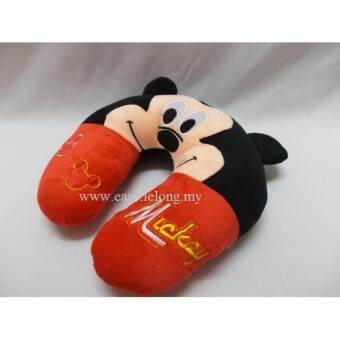Harga Mickey Minnie Mouse Cartoon U Pillow Neck Protection- Soft Plush-Mickey