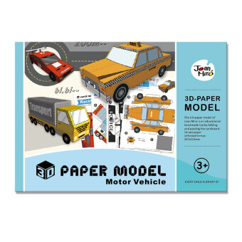 Harga Joan Miro 3D model paper (Motor Vehicle)