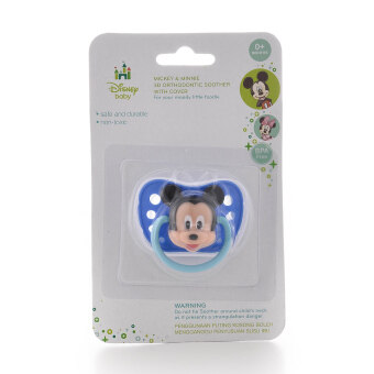Harga Disney Mickey 3D Orthodontic Soother with Cover