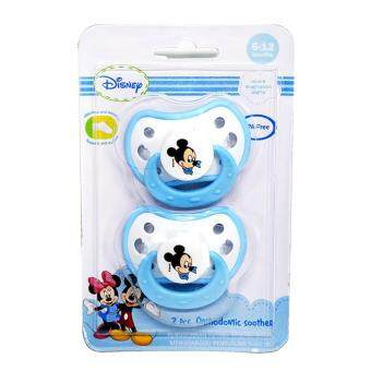 Harga Disney Mickey 2pcs Orthodontic Soother