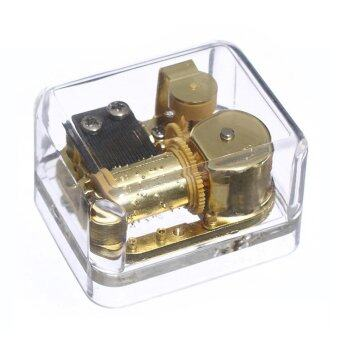 Harga Laxury Wind-up Clear Acrylic Music Box, Different Tunes Available (Model FT002, Gold-plating Movement,Set of 1),Tune:Canon in D