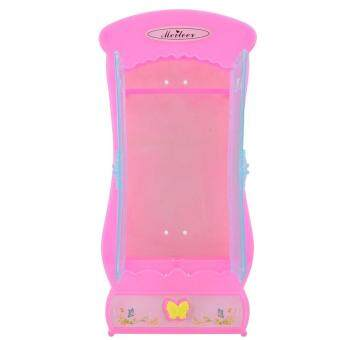 Harga Pink Plastic Furniture Wardrobe DollHouse Accessories For Barbie Doll