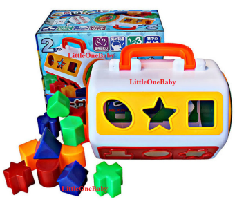 Harga Hexagon Block Toys / Shape Leaning Skill / Colour Differentiate Skill / Clock learning Skill For 2 years old Kids