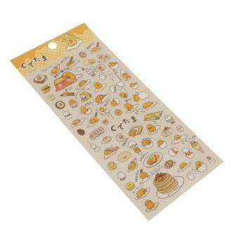 Harga MagiDeal Gudetama Transparent Stickers Scrapbooking Diary Decor Plane Sticker Dark