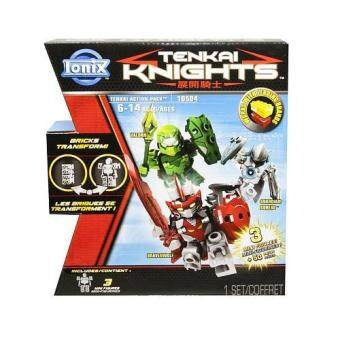 Harga Ionix Tenkai Knights - Action Pack 10504 (Valorn/Bravenwolf/Guardian)