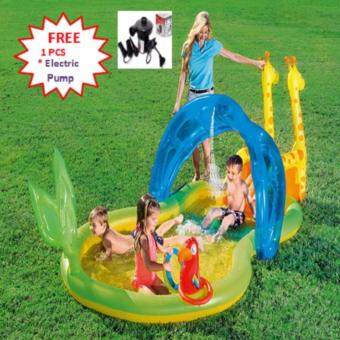 Harga 53060 Bestway Pool Inflatable Play Pool for Kids