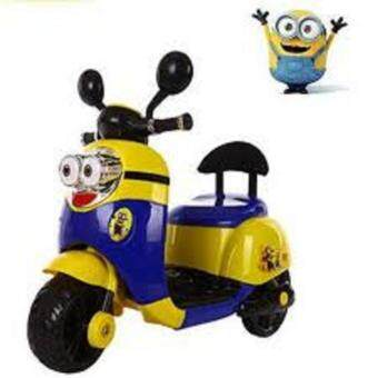 Harga KIDS RIDE ON MINION ELECTRIC CHILDREN MOTORCYCLE