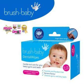 Harga Brush Baby Dental Wipes