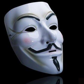 Harga Haotom V Face Mask for Vendetta Mask Film Guy Fawkes Fancy Cosplay Anonymous Halloween Masks Fancy Dress Costume