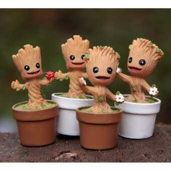 Harga Guardians Of The Galaxy Mini Cute Groot Model Toys Action FiguresCartoon Toys Gift For Boys And Girls