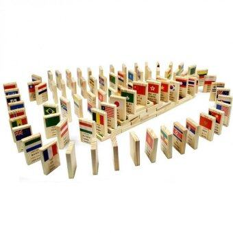 Harga National Flag Domino - Wood