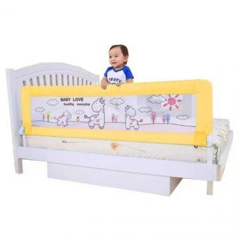 Harga Baby Bed Rail Yellow Baby Bed Rails Infant Bed Guard Rail Fence 180m Twomother Yellow Deer