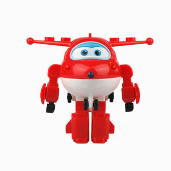 Harga New Super Wings toys Mini Planes Model Transformation robot Deformation Airplane Robot Boys Christmas Birthday Gift