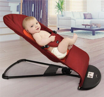 Harga Baby Balance Chair Rocker Bouncer Chair(Red Cotton)