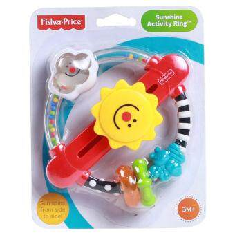 Harga Fisher-Price Newborn Miracles & Milestone Sunshine Activity Ring (0+ Months)