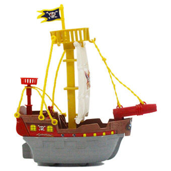 Harga A213 Boat Model Action Figure Sunny Boat Pirate Ship Model Toys Collection