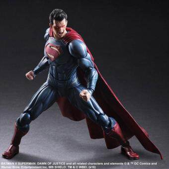 Harga Superman Play Arts Action Figure Toys Boxed PVC Justice League Action Figures Collection Batman Toys