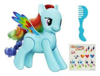 Harga My Little Pony Flip and Whirl Rainbow Dash Figure