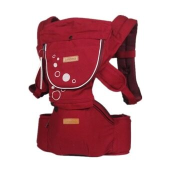 Harga Korean imama Baby Hipseat Carrier (Red)