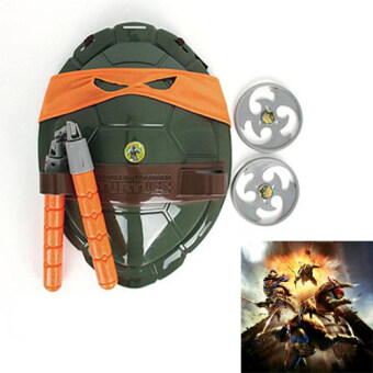 Harga New Ninja Turtles Weapons Toys Kids Birthday Gifts(Orange)