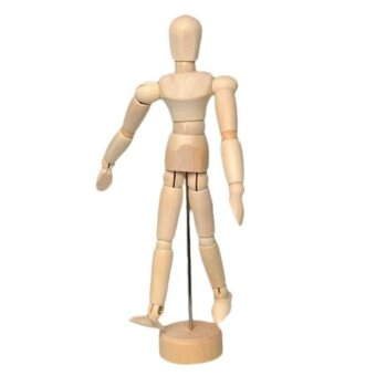 Harga toy fashion drawing model wooden dummy to men stupid joint model puppet