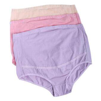 Harga BolehDeals 3x Maternity Pregnancy Underwear High Waist Panties Briefs M Style 2