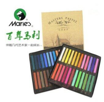 Harga 48 color PRO MASTERS Colours soft Pastels Set FOR Coloring
