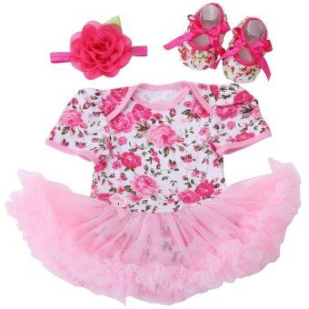 Harga Summer Newborn Baby Girl Clothes Set Ropa Bebe Bodysuit Baby Girl Coveralls Infant Toddler