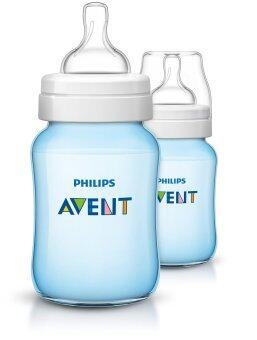 Harga Philips Avent Classic+ Plus Blue Bottles (England Set) 2 x 9oz / 260 ml (PP)-Twin Pack