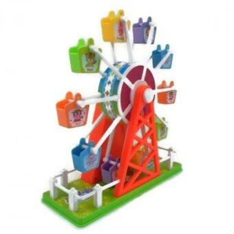 Harga Ferris Wheel Toy & Wonderful Music Colorful Light ( Sensor Sound Control Function )