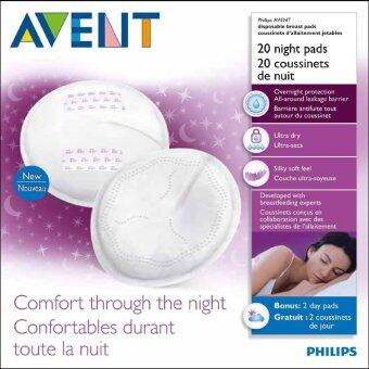 Harga Philips Avent Disposable Breast Pads Night 20's-SCF253/20