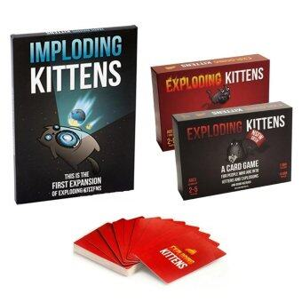 Harga Exploding Kittens: Original and NSFW Editions + Extended edition Combo Pack
