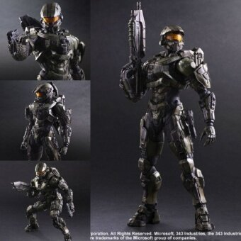 Harga Play Arts KAI Halo 5 Guardians No. 1 Master Chief PVC Action FigureCollectible Model Toy 26cm