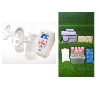 Harga Lacte - Duet Electric Breastpump Package