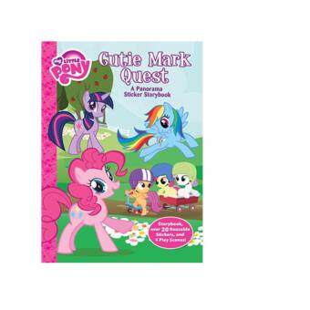 Harga My Little Pony: Cutie Mark Quest A Panorama Sticker Storybook